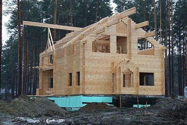Как строим деревянный дом своими руками