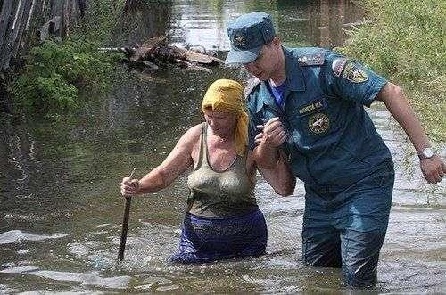 В мокрой савалеевске было найдено тело 23-летнего молодого человека, в реке