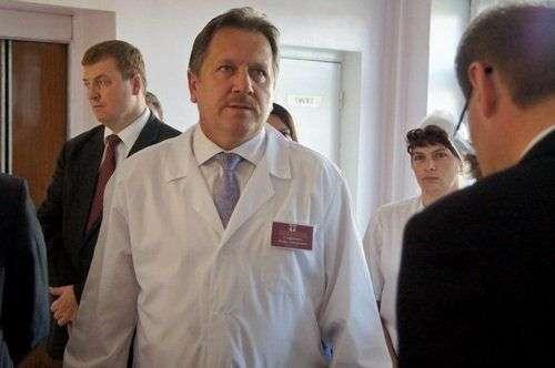 Игорь Стефанович, главный врач ЦГБ города Бердска
