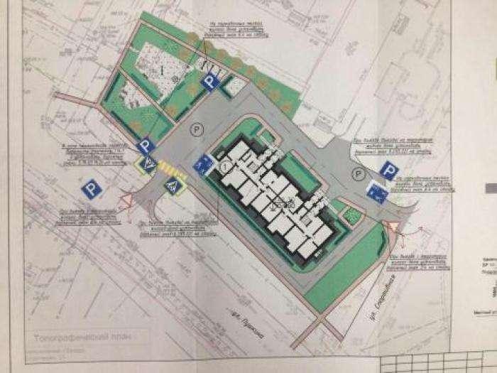 Проект планировки 9-этажного дома на ул. Спортивная, 15 в Бердске