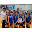 Бердские волейболистки заняли второе место в фестивале НСО