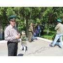 День пограничника празднуют в Бердске