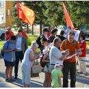 Итоги антифашистского пикета в Бердске
