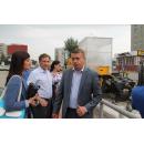Рейд. Чиновники Бердска проверили реконструкцию ул. Ленина