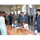 Чемпионка по шахматам из Бердска провела сеанс одновременной игры с детдомовцами