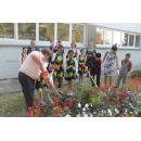 Китайские школьники вместе с мэром Бердска посадили «Дерево дружбы»