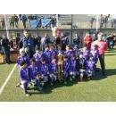 Кубок чемпионов завоевали бердчане на футбольном турнире в Евпатории