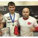 Тренер Евстафьев Сергей (справа) и воспитанник