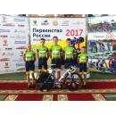ДЮСШ «Авангард» - бронзовый призёр Первенства России по велоспорту на треке