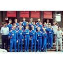 Команда бердчан по уличному баскетболу