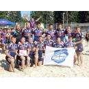 Команда «Дружина» из Бердска - чемпион России по пляжному регби