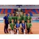 Волейболисты из бердской спортшколы «Авангард»
