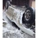 Автомобиль улетел в кювет