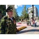 В Бердске прошел митинг в честь дня Военно-воздушных сил