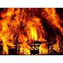 Дом горел из-за короткого замыкания
