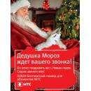 Дед Мороз готов поздравить по телефону жителей Бердска
