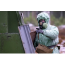 Учения взвода радиационной, химической и биологической защиты. Архивное фото