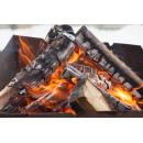 При розжиге мангалов и печи в Искитимском районе обгорели люди