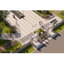 Дизайн-проект благоустройства сквера