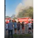 Площадь пожара составила 75 кв.м.