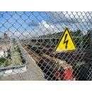 Будьте осторожны на железной дороге!