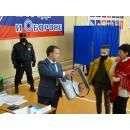Наблюдатели контролируют каждый шаг на выборах в Бердске