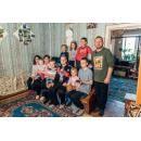 В семье Ширяевых 9 детей