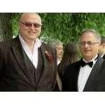 Тимур Гордеев и Эхтибар Ахмедов  на концерте в Бердске