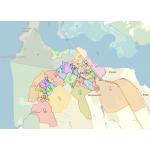 В Бердске 33 избирательных округа. Карта создана Бердск-онлайн с использованием ресурса Яндекс-карты