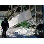 Кровля манежа конного клуба Аллюр рухнула под тяжестью снега