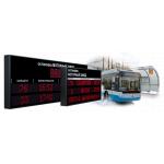 Табло позволяет наиболее простым и доступным способом оповещать пассажиров о времени прибытия общественного транспорта