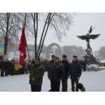 Видео. Бердск первый в Новосибирской области открыл движение юнармейцев