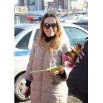 Цветы для автоледи – праздничную акцию провела ГИБДД Бердска