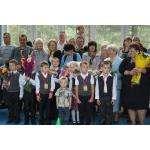 1 сентября в школе №8. Фото Галины Жильцовой из архива Бердск-онлайн