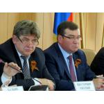 Глава Бердска Евгений Шестернин и вице-губернатор Александр Титков