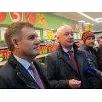 Начальник Управления по регулированию потребительского рынка НСО Вячеслав Братцев присутствовал на открытии нового магазина