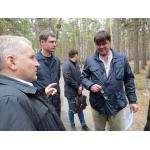 Вице-мэр Александр Тужик и руководитель санатория «Сибиряк» Николай Харченко не пришли к единому мнению по поводу земель