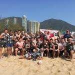 Бердск взял «серебро» турнира по пляжному регболу в Гонконге
