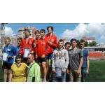 Привезли бронзу бердские лёгкоатлеты с областных соревнований имени Я.Р.Розенфельда.