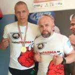 Иван Тарасенков и его тренер Сергей Евстафьев