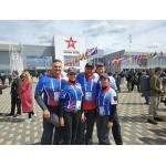 В составе сборной России - стрелки из Новосибирской области. Бердчанин Вадим Сахоненко на фото - крайний справа