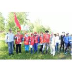 Областная коммунистическая олимпиада в Репьёво - команда бердчан
