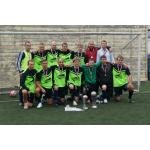 Игроки команды-победителя «Рассвет» Чемпионата по футболу Бердска