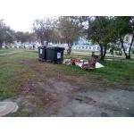 На ул.Лунной, 17 с субботы лежит куча мусора. Это – лицо города?
