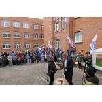 Борцовский зал открыт на базе школы №10 в Бердске