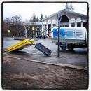 На ликвидацию последствий урагана «Лёня» в Омск уехали спасатели из Бердска