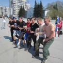 Трезвая пробежка в Бердске собрала два десятка участников