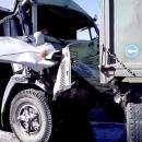 Кабину КамАЗа смяло, как жестянку, в момент ДТП в Искитимском районе. Пострадал водитель