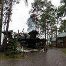 Дотла сгорели четыре загородных резиденции в «Чайке» в Бердске
