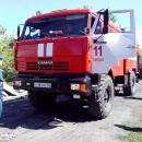 От воспламенившихся ГСМ в Бердске едва не сгорел жилой дом